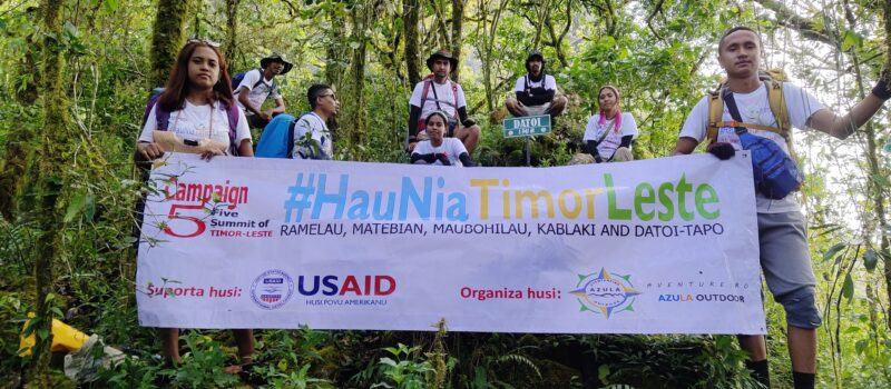 The Five Summits of Timor-Leste – A New Adventure Tourism Challenge
