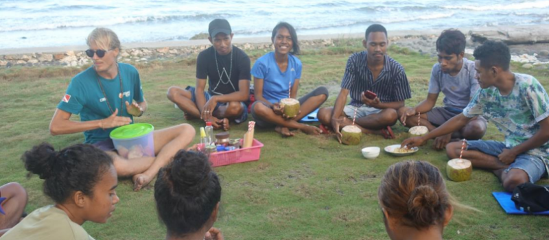 Young Marine Scientists Explore the Marine Environment and Links to Sustainable Tourism