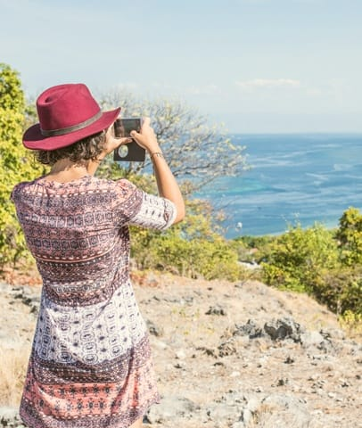 Timor-Leste: Clothing, Hat, Back, Leisure Activities, Female, Human, Person, Sun Hat, Cap, Outdoors, Hippie, Face, Portrait