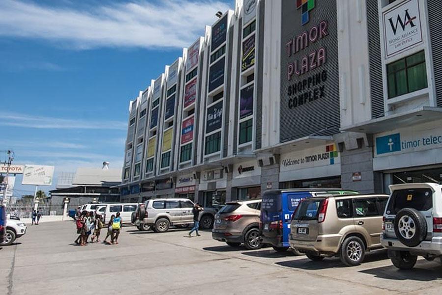 Timor-Leste: Vehicle, Transportation, Car, Automobile, Person, Human, Pickup Truck, Truck, License Plate