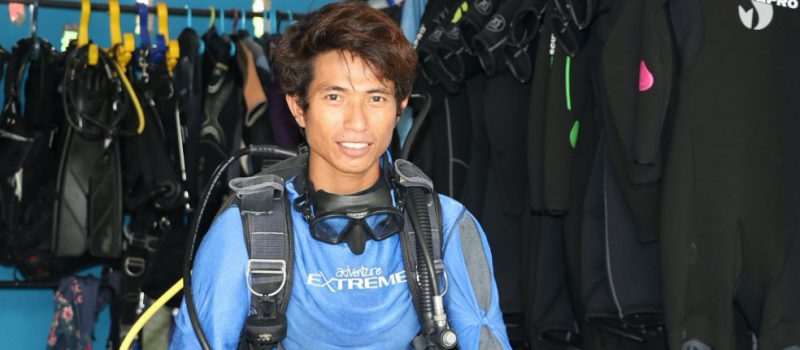 A Dream Come True For The First Timorese Dive Instructor
