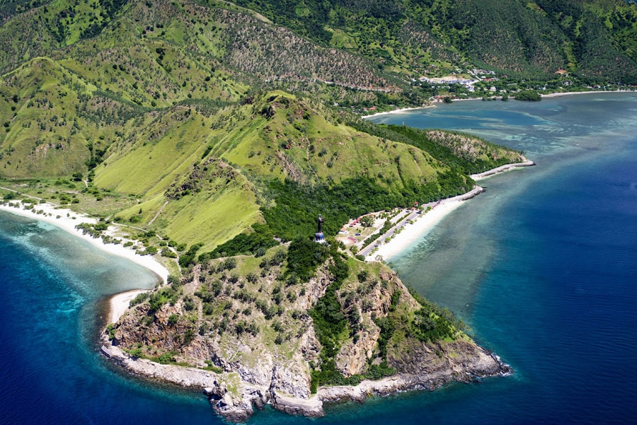 Timor-Leste: Nature, Land, Outdoors, Ocean, Sea, Water, Shoreline, Coast, Peninsula, Promontory, Landscape, Island, Scenery